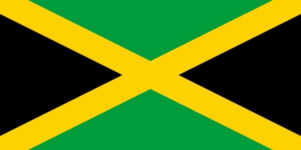 """Jamaica Motto: """"Out of many, one people"""" Capital: Kingston Official Language: English Government: const. Monarchy Currency: Jamaican Dollar Driving: left Religion: Christianity Flag:  -green: lush vegetation -yellow: golden sunshine -black: strengh, creativity of people"""