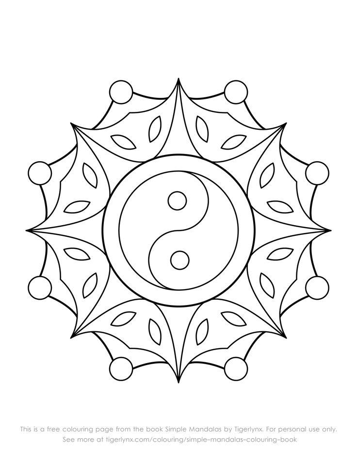Best 25+ Simple mandala designs ideas on Pinterest