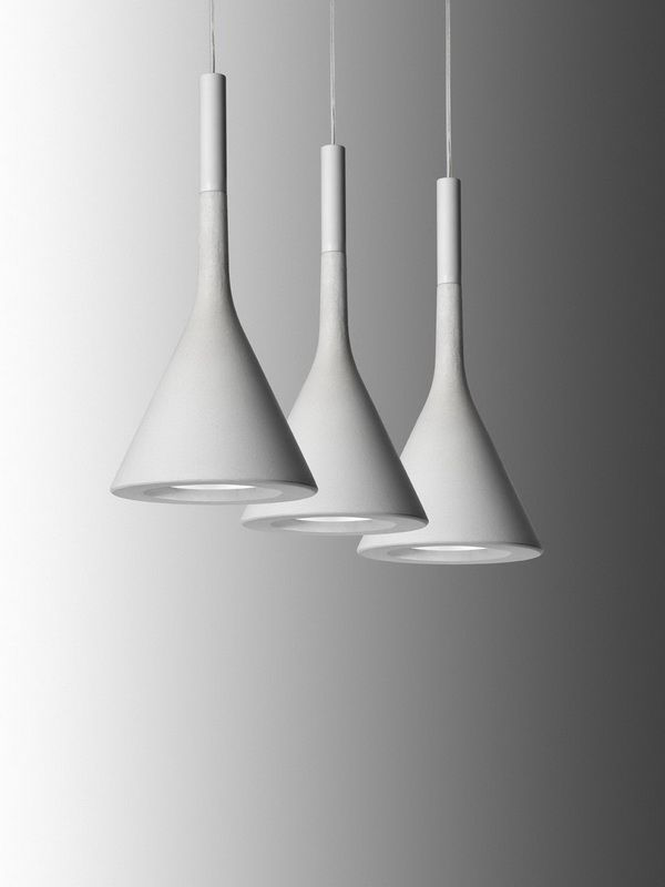 Visible concrete is part of the language of modern architecture and, with Aplomb; Foscarini presents a revolutionary model that uses this material with a completely innovative spirit and technology.: Pendants Lamps, Suspen Lights, Lamps Design, Aplomb Suspension, Foscarini Aplomb, Pendants Lights, Aplomb Pendants, Concrete Lamp, Hanging Lamps