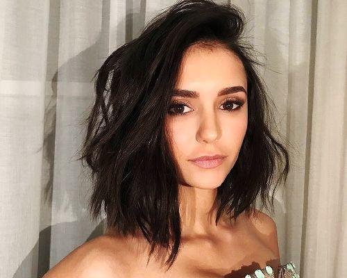 Short hair. Don't care. New year. New Do(brev). Jan 10th 2016 Nina Dobrev
