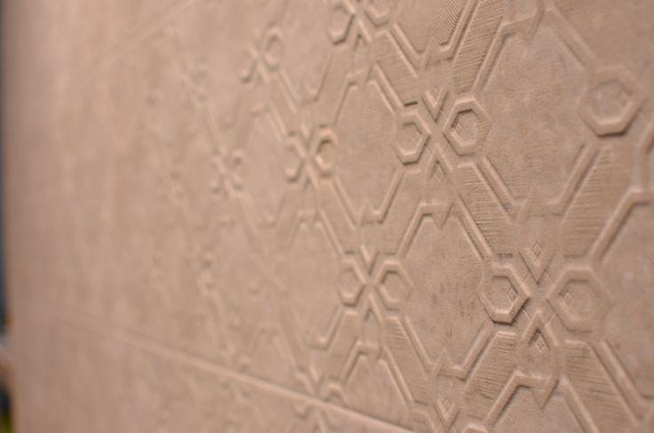 Arcana Tiles at Cevisama 2016 | Arcana Ceramica | Cadorna Beige 33,3x100 cm. | #event #cevisama #inspiration #tiles