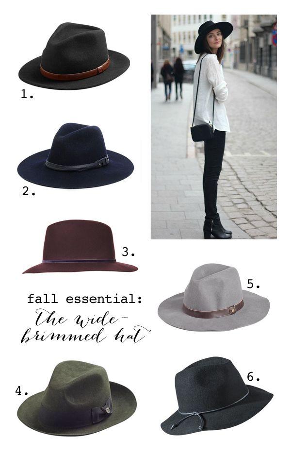 Fall fedoras, my true love is a hat.