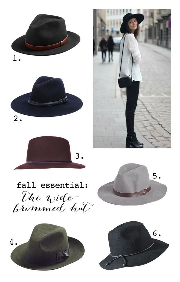 I like the style of these hats that go well with any outfit