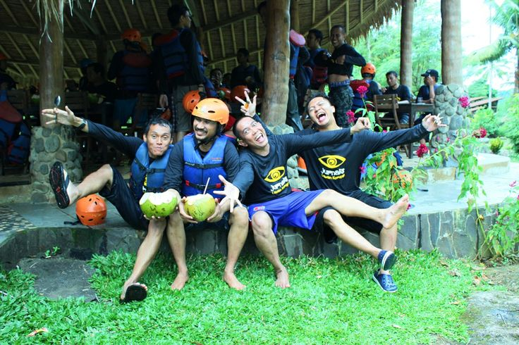 HIYAAAA : Adventure with CARE #Caldera_Indonesia #Rafting Citarik - Sukabumi, West Java Indonesia