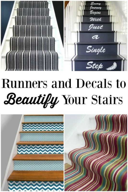 Remove outdated carpet Getting rid of outdated and old carpet is one of the absolute best ways to makeover your stairs. You can remove carpet and install wood treads. This sounds like a really tough task,...