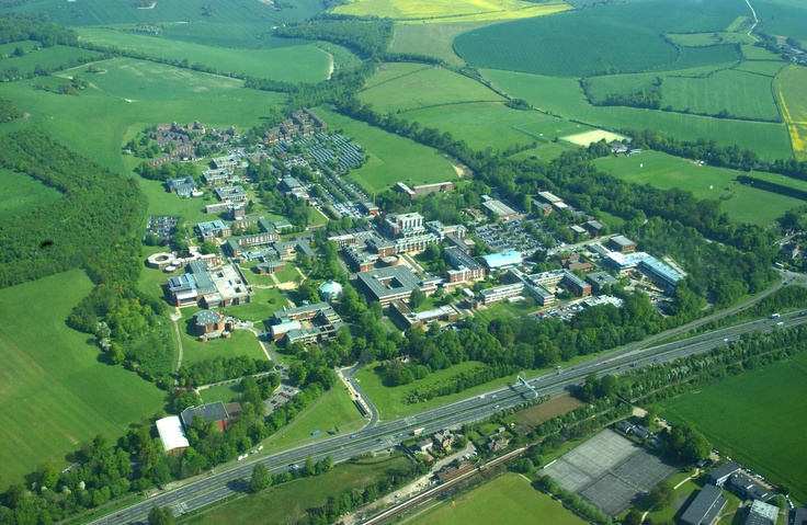 University of Sussex by air.  My son will be attending Summer 2012 for the Student Abroad program!  What a great way to end his studies!  I wanna go too!