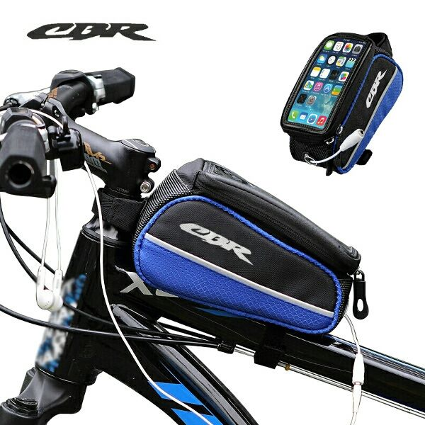 CBR Car Beam Bag Storage Bicycle Bike Frame Bag for Phone 5.5 inch or less - Other