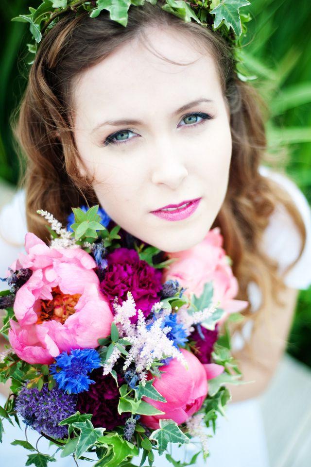 Dreamy Wedding Inspiration -Pre Raphaelite Colour Drenched Inspiration