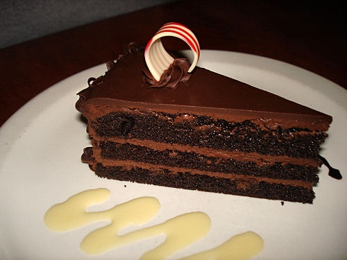 Chocolate Canadian Club Cake Recipe served at Le Cellier in EPCOT at Disney World
