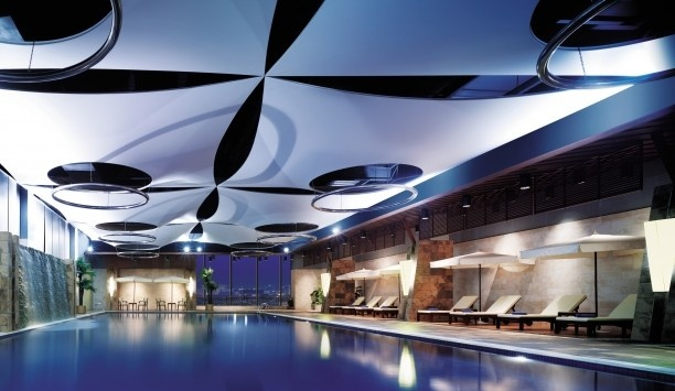 Traders Fudu Hotel, Changzhou: There's plenty here to keep you busy, including a spa, tennis courts and the indoor pool.