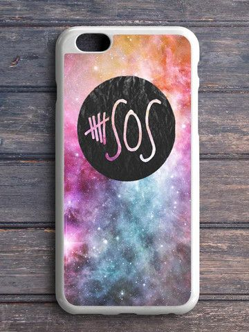 5 Second Of Summer Logo Galaxy iPhone 5 C Case