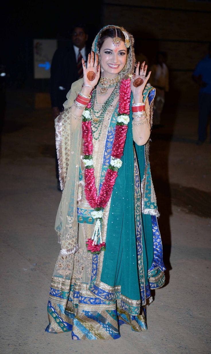 Dia Mirza All set to Tie the Knot – The Nuptial Rites Begin! | Dia ...