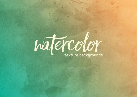 25 Watercolor Backgrounds by Dreamstale on @creativemarket