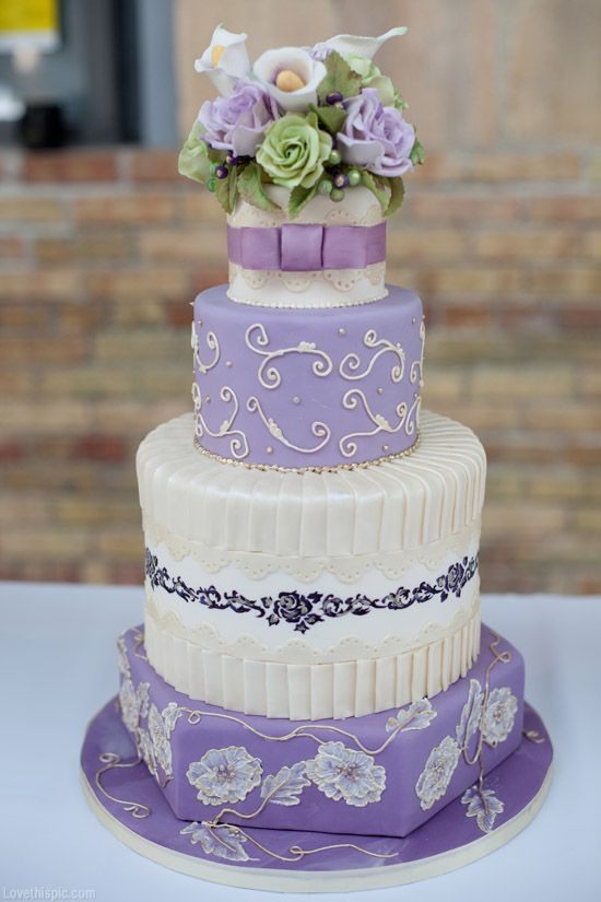 wedding cake purple theme 17 best ideas about lavender wedding cakes on 23580