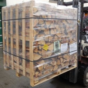 Crate Of Kiln Dried Beech Firewood Logs 600Kg