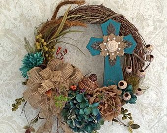 OUTDOOR EASTER WREATHS - Google Search