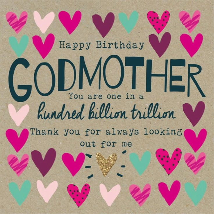 Birthday godmother