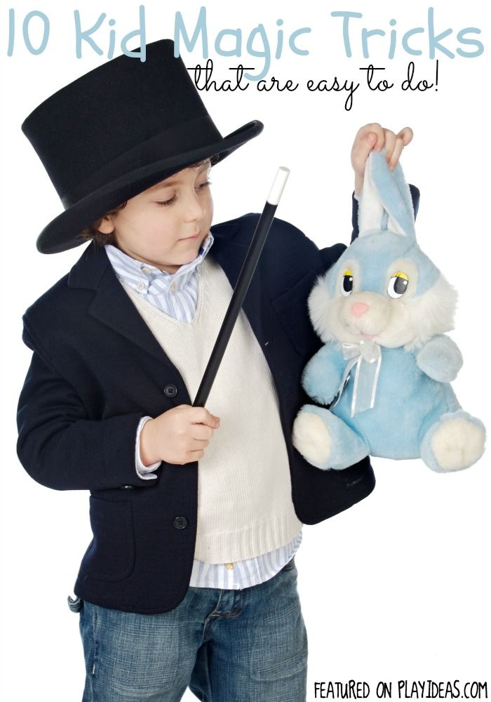 With a little practice, your kid will be a mini Houdini in no time with these easy magic tricks for kids.