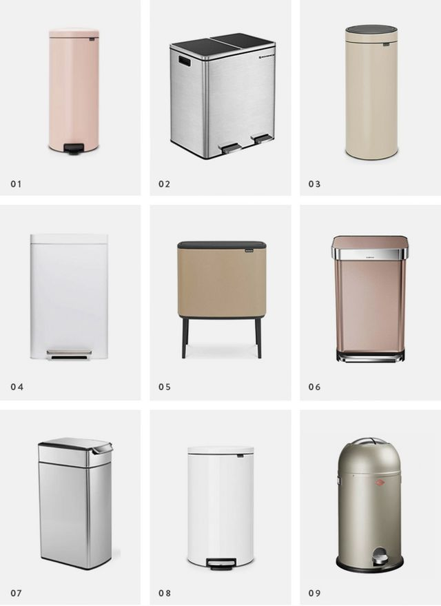 Pretty Everything 21 Attractive Trash Cans Almost Makes Perfect