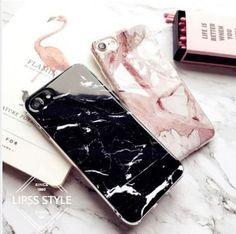 ☆関税無し 大人気 シンプル 大理石柄 iPhoneケース クール