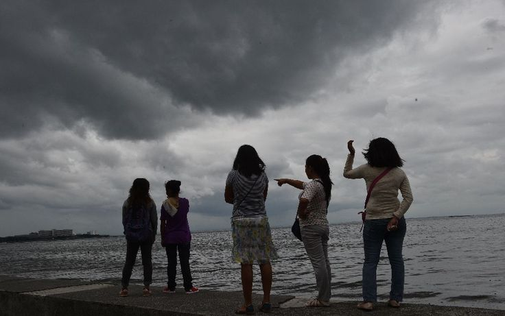 Typhoon Sarika lashed the main Philippine island of Luzon on Sunday, flattening homes and toppling trees and power pylons as more than 12,000 people fled to safer ground, officials said.  Minor landslides and flooding were also reported a day after the cyclone brushed past the remote eastern island of... OCT 16 2016