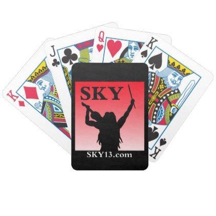 #SKY13.com Bicycle Playing Cards B - customized designs custom gift ideas
