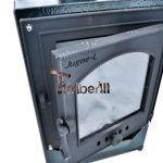 Ekstern rustfritt stål ovn for badestamper [med dekorasjonen] - TimberiN