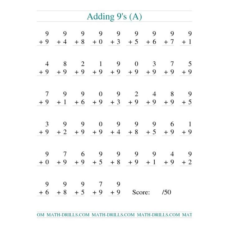 7 S Addition Worksheets : Grade addition worksheet free math worksheets for k