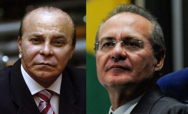 MPF denuncia Renan Calheiros e Aníbal Gomes No documento, assinado pelo procurador-geral da República, ambos são acusados de receber valores ilícitos em um total de R$ 800 mil e por lavagem de dinheiro por meio de doações oficiais da empreiteira Serveng