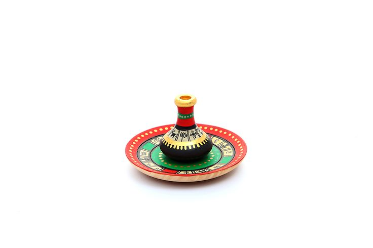 Warli hand painted incense stick holder is in vibrant colors with a matching plate to collect the ashes of the incense stick. It is artistically designed and a piece of pious beauty. (There may be very minor variations in color combinations, between displayed and dispatched products, due to variety of artisans who handcraft the products. The look, feel and quality will , however, be consistent with what you see. That is an Indikala promise).