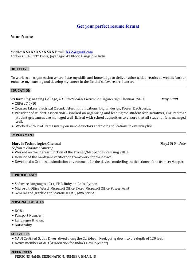 Passport Specialist Sample Resume 26 Best Resume Amd Skills Images On Pinterest  Resume Website And .