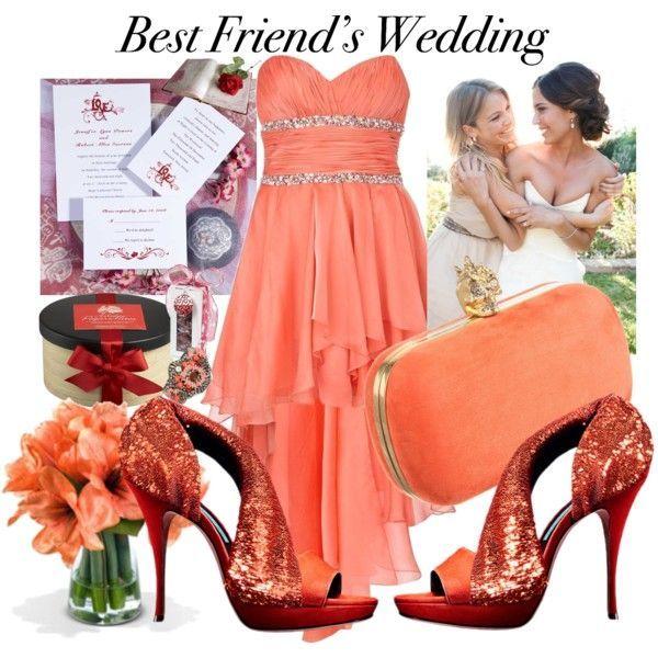 orange wedding guests dresses outfit / vestiti cerimonia per matrimonio invitate in autunno