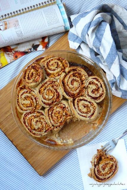 Cinnamon-Apple Healthy Rolls/Корично-Яблочные Полезные Булочки