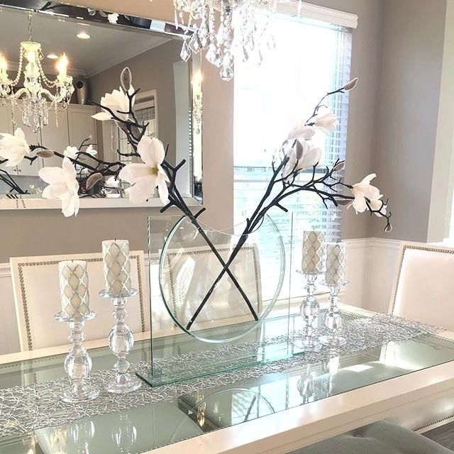 Fine Kitchen Table Centerpieces Diy Graphics Idea Kitchen Table Centerpieces Diy For Perfect Id Dining Table Decor Romantic Home Decor Dining Room Table Decor