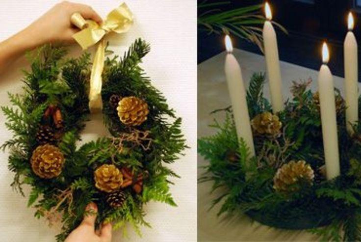 Comment fabriquer sa couronne de Noël naturelle?