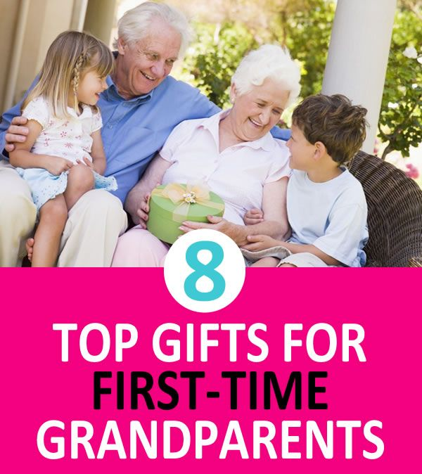 8 Top Gifts For First-Time Grandparents