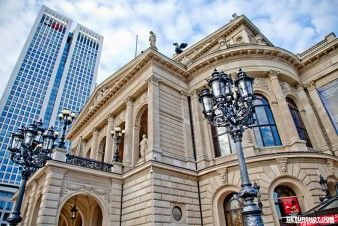 Frankfurt, Germany, Alte Oper, City