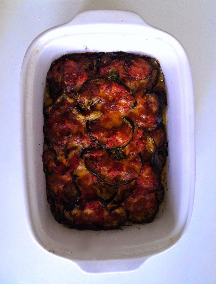 Aglio, Olio e Peperoncino: Melanzane alla Parmigiana - Eggplant Parmesan recipe