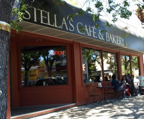 Stella's Cafe & Bakery. You can never go wrong! Winnipeg.