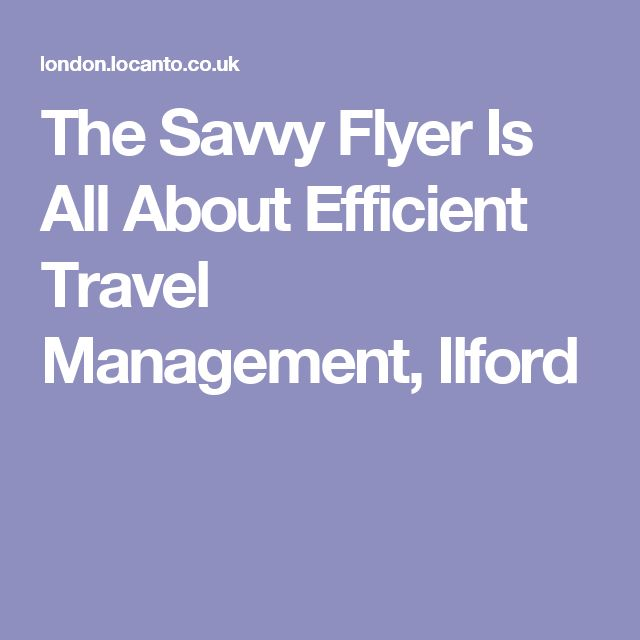 The Savvy Flyer provides one of the best travel management services compared to others in the business.