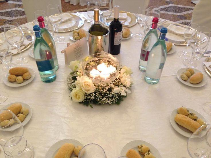 centrotavola, candele, inverno, matrimonio a dicembre