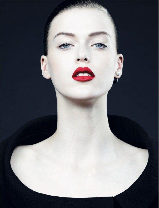 Tess Hellfeuer Gertrud Hegelund by Ben Hassett for Dior Fall 2013