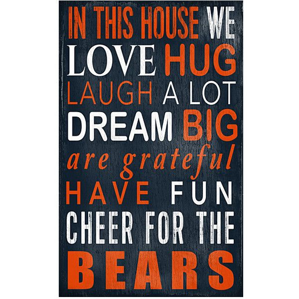 Chicago Bears Wall Art best 25+ chicago bears ideas on pinterest | chicago bears game