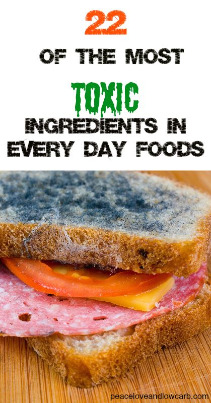 22 of the Most Toxic Ingredients in Every Day Foods/  Yuck, yuck, yuck!!  Why our government can't force the elimination of most of this crap is beyond me.  Oh, wait, the politicians don't want to endanger the money flow from the companies that make and distribute this stuff!