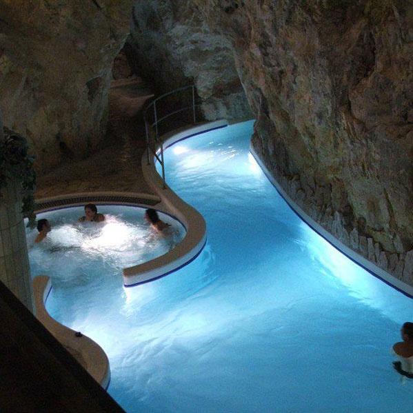 Cavebath in Miskolctapolca.