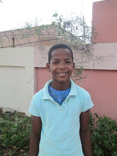 Rosanne Catalano & Bill Umland's sponsored child, Jean Carlos, from the Dominican Republic, Central America. He will be 12 in November 2015.
