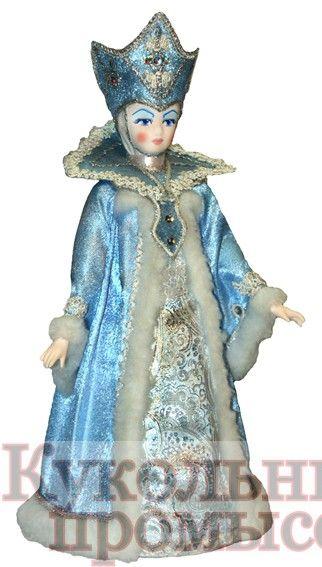 Кукла-конфетница Снегурочка 027-004