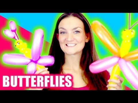 Butterfly Balloon How To - Tutorial Tuesday! - YouTube
