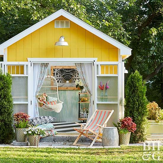 1487 best images about inspiring outdoor spaces on pinterest for Garden getaway designs
