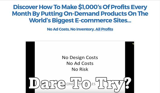 Discover How To Make $1,000′s Of Profits Every Month. With No Ad Costs, No Inventory, All Profits. Get detail => http://jvz5.com/c/35429/222697
